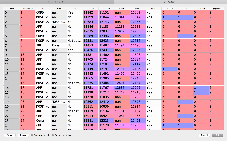 Data Frame i Python